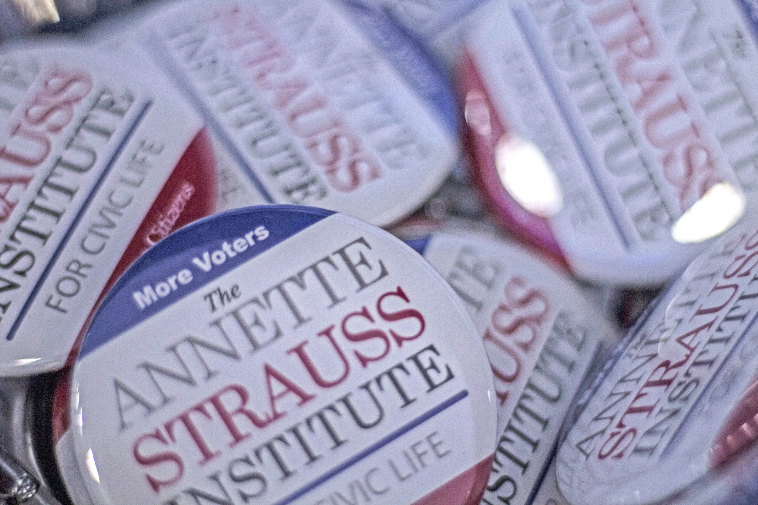 The Annette Strauss Institute for Civic Life was founded in 2000 to inform voters and engage active citizens.
