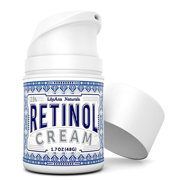 Retinol Cream - Another product is retinol cream, which helps to moisturize your face. Before you go to bed, swipe on some of this cream so that you can wake up with bright skin and help with those stress pimples. The top ingredient in the cream is organic aloe, which has amazing benefits for your skin. This product costs around $20 as well.