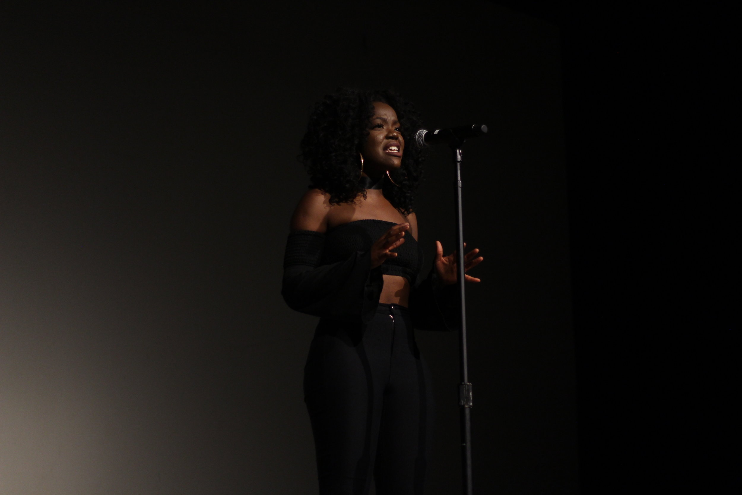 Siji Deleawe speaks about her experience being a black woman on campus.