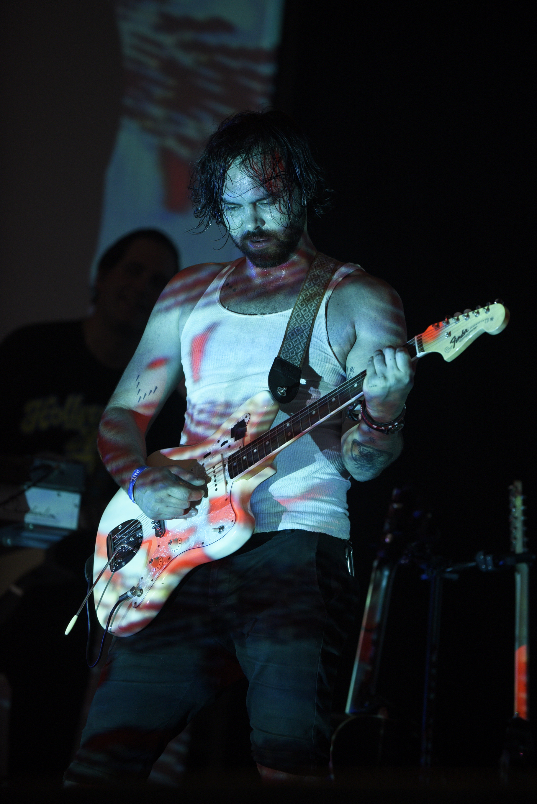 During his performance, Rose-Garcia said he grew up playing in Zilker Park.