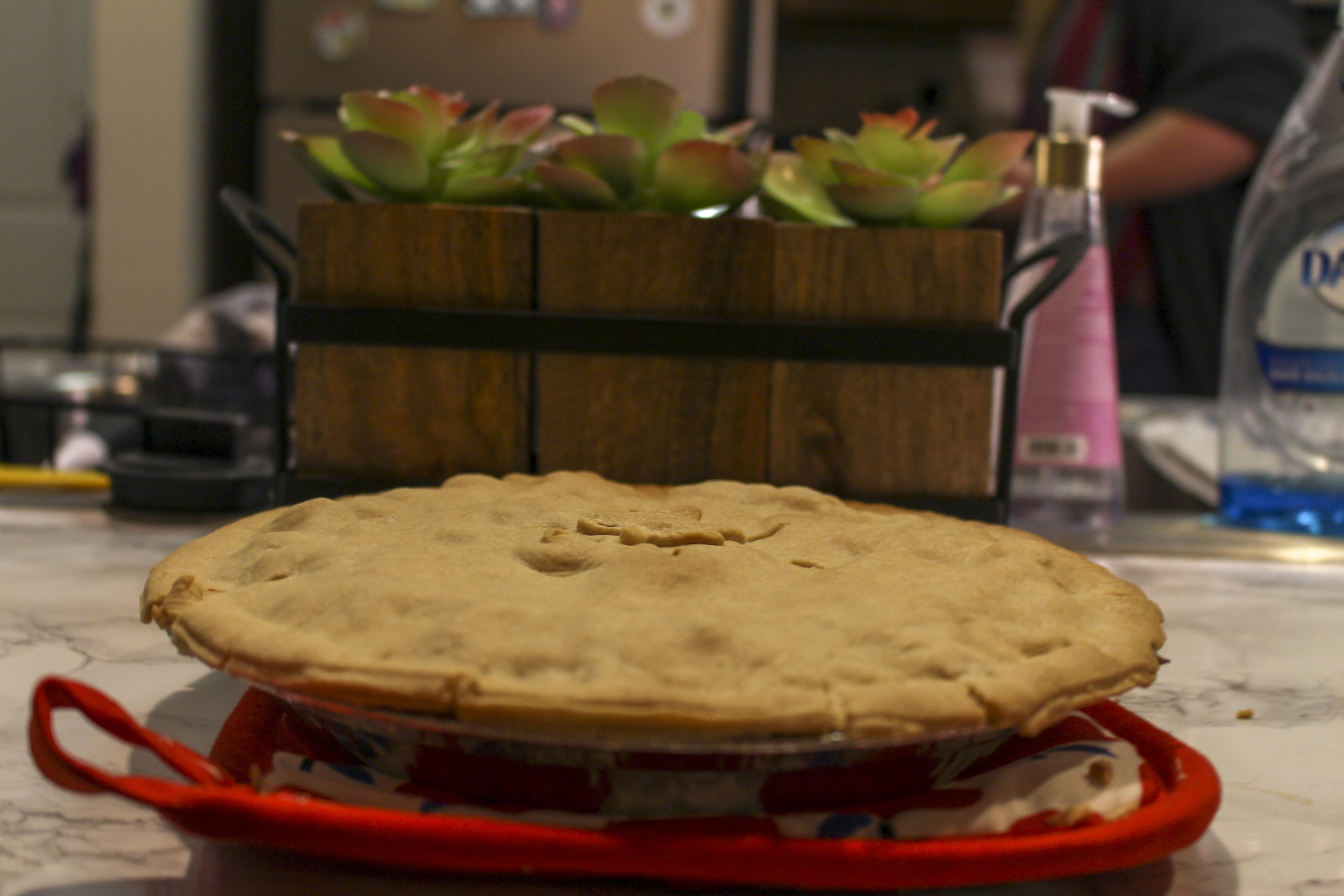 While most pot pie recipes are labor-intensive, this recipe is simple and delicious.