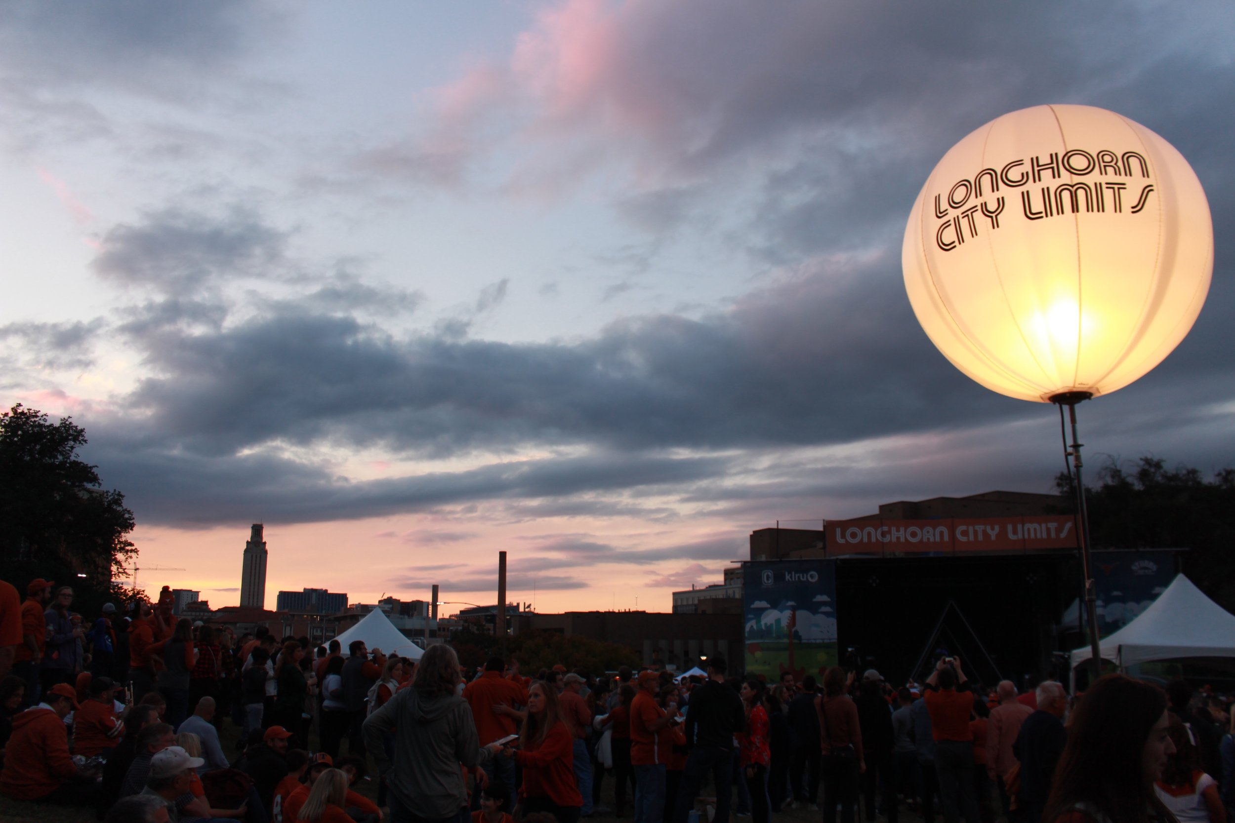 Longhorn City Limits is a play on Austin's biggest music festival, Austin City Limits.
