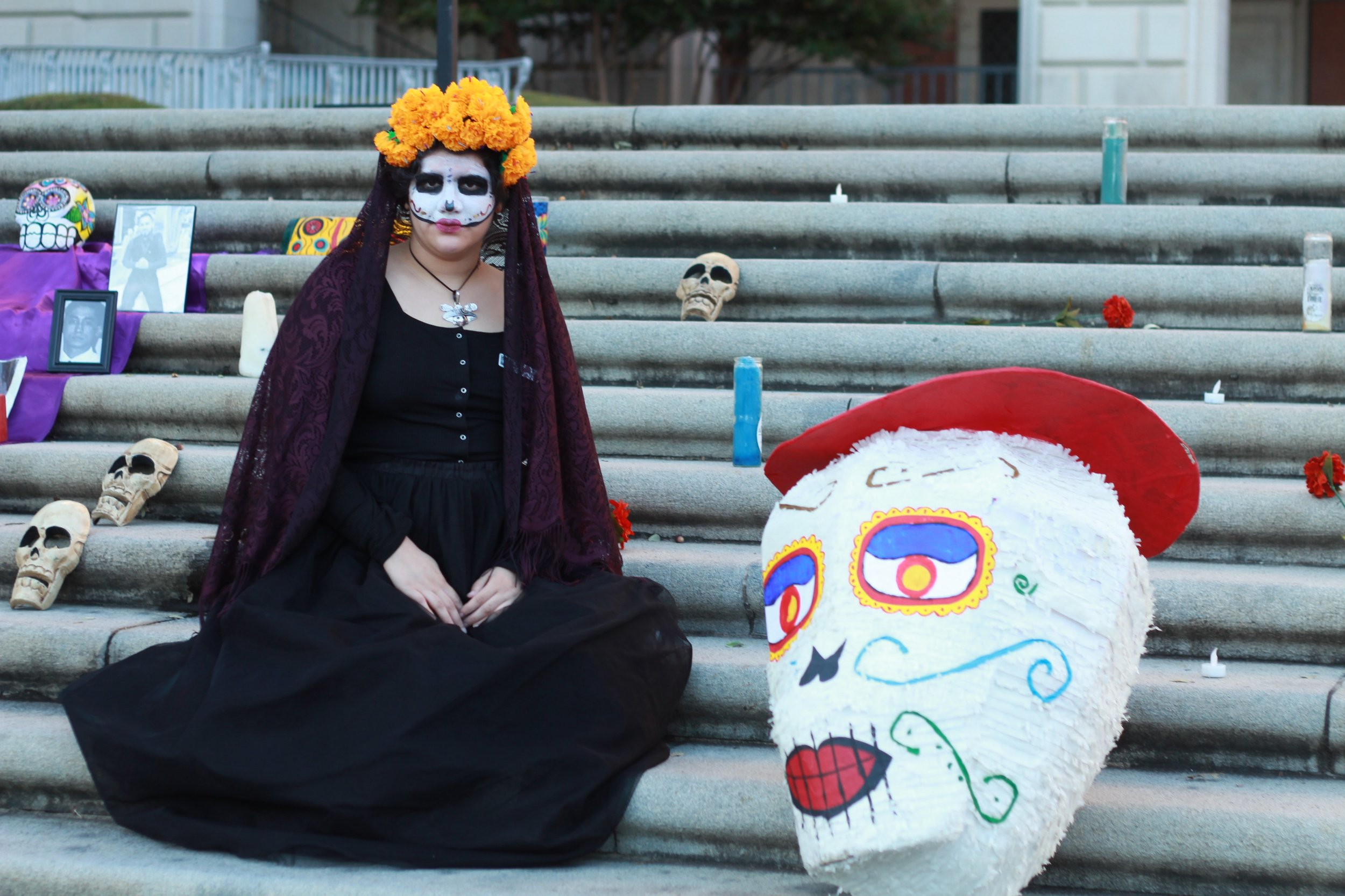 Natalia Rocafuerte of the Mexic-Arte Museum, speaks about the cultural and historical importance of Día de Los Muertos for Mexican families.