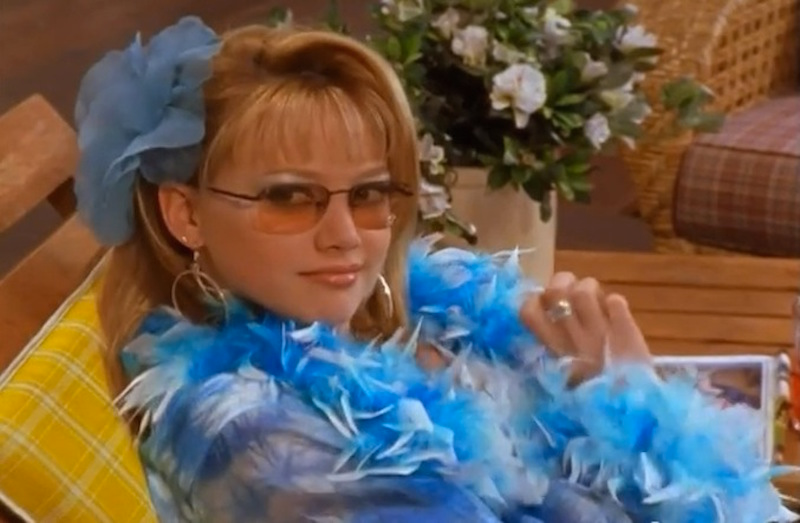 - There was the time Lizzie was a model.