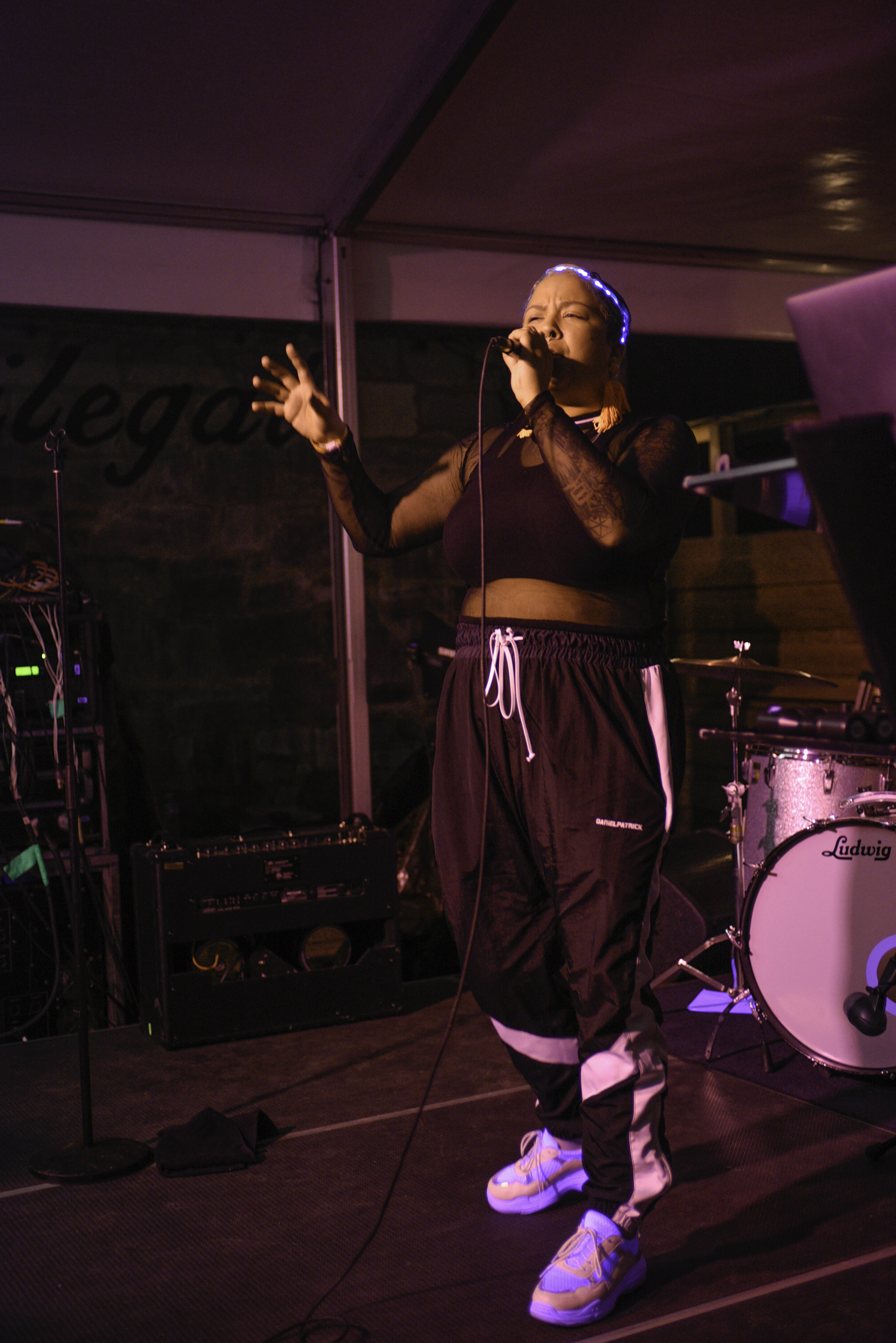 Drama is an R&B best friend duo formed in Chicago with Austin native Via Rosa on vocals and Na'el Shehade producing the music. Drama played the Showtime showcase at Clive bar on Rainey St.