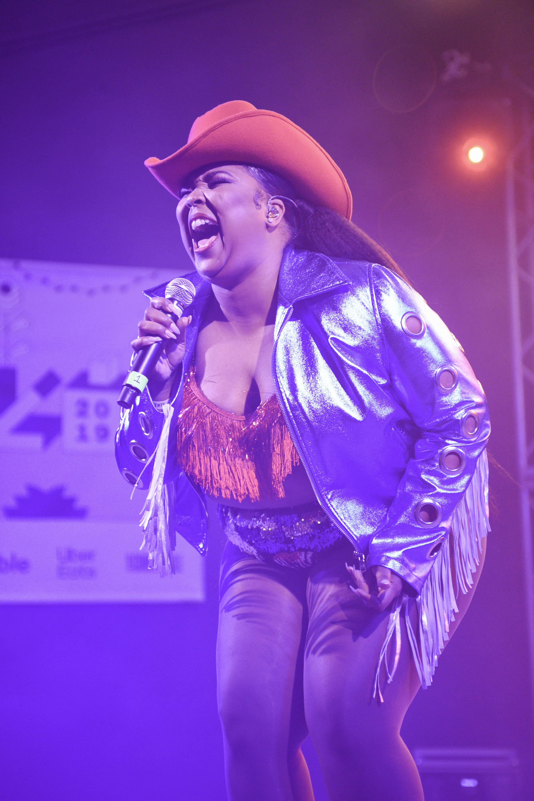 """Texas native Lizzo ended closed the stage at Stubb's Thursday March 14. Many said her performance """"won"""" SXSW this year with messages of body positivity and self love."""