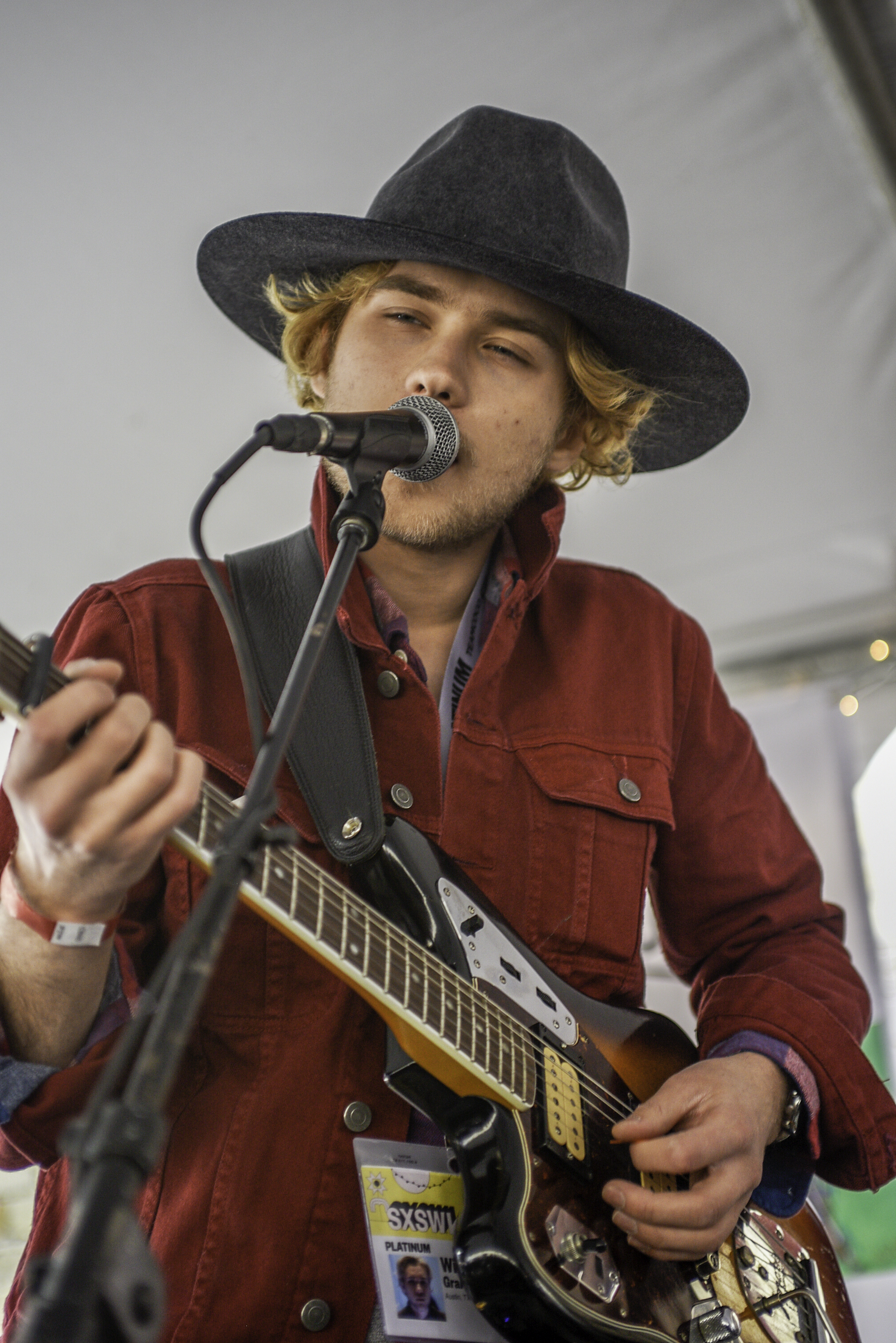 """Local singer songwriter William Harries Graham played 6 shows at SXSW. Graham has recently released his album """"Jakes."""""""
