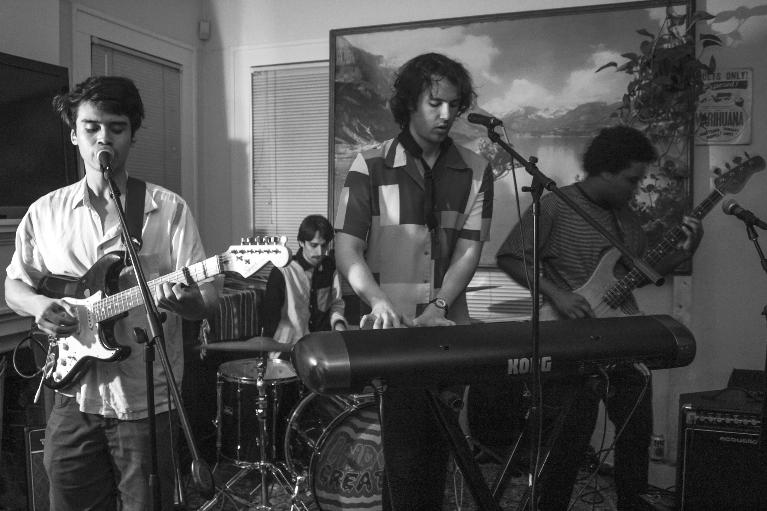 "The indie pop band Indoor Creatures groove to their ballad, ""Dreams or Whatever."""