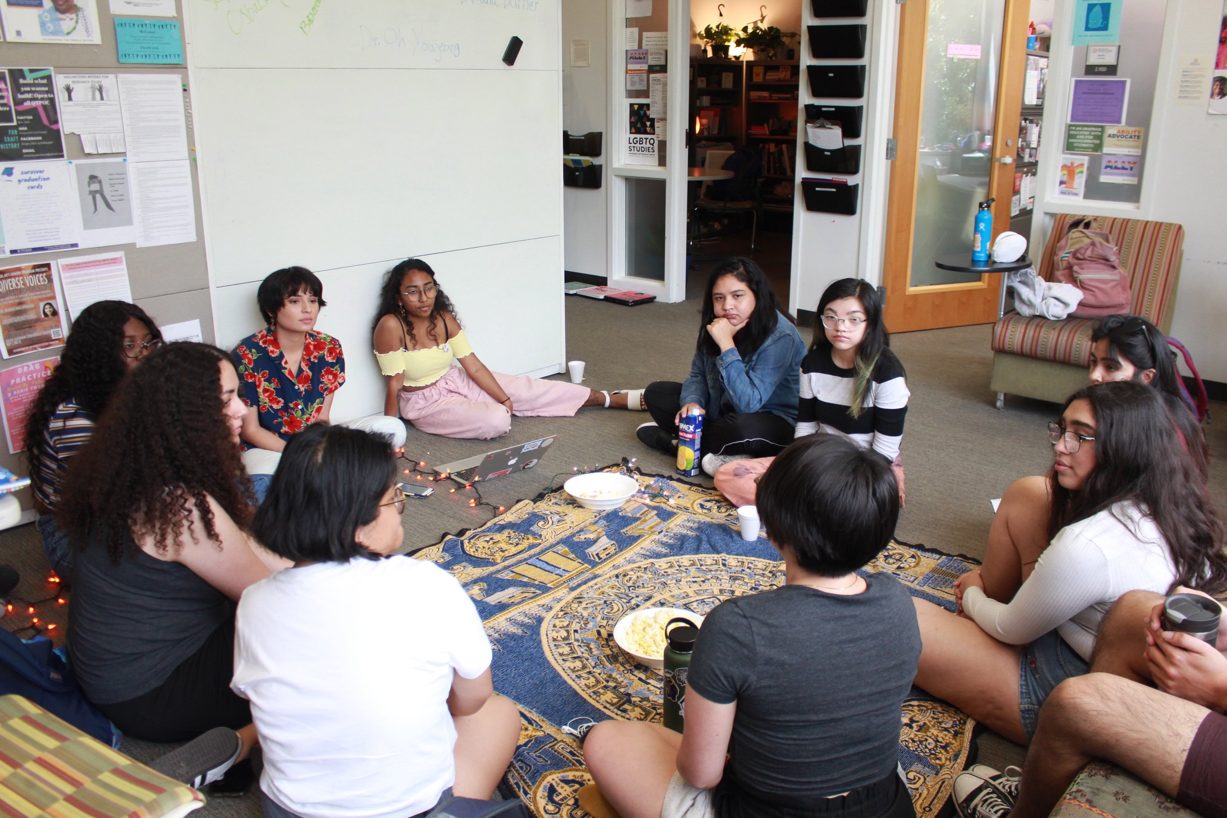Women of color discuss how their identity is tied to spiritual practices that they might take for granted, this BIWOC event is special as it celebrates the traditions of indigenous ancestors.