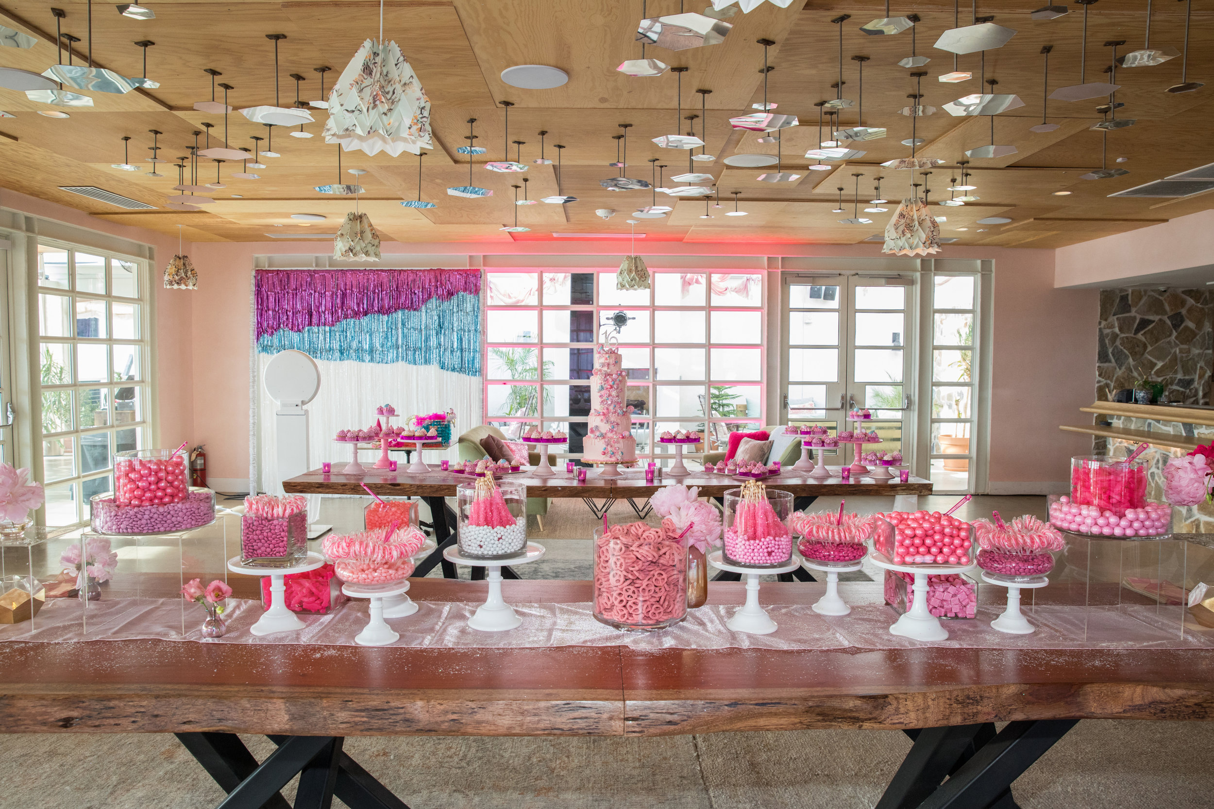 Teen Vogue went back to the basics with its theme for a grand birthday bash: all pink everything.