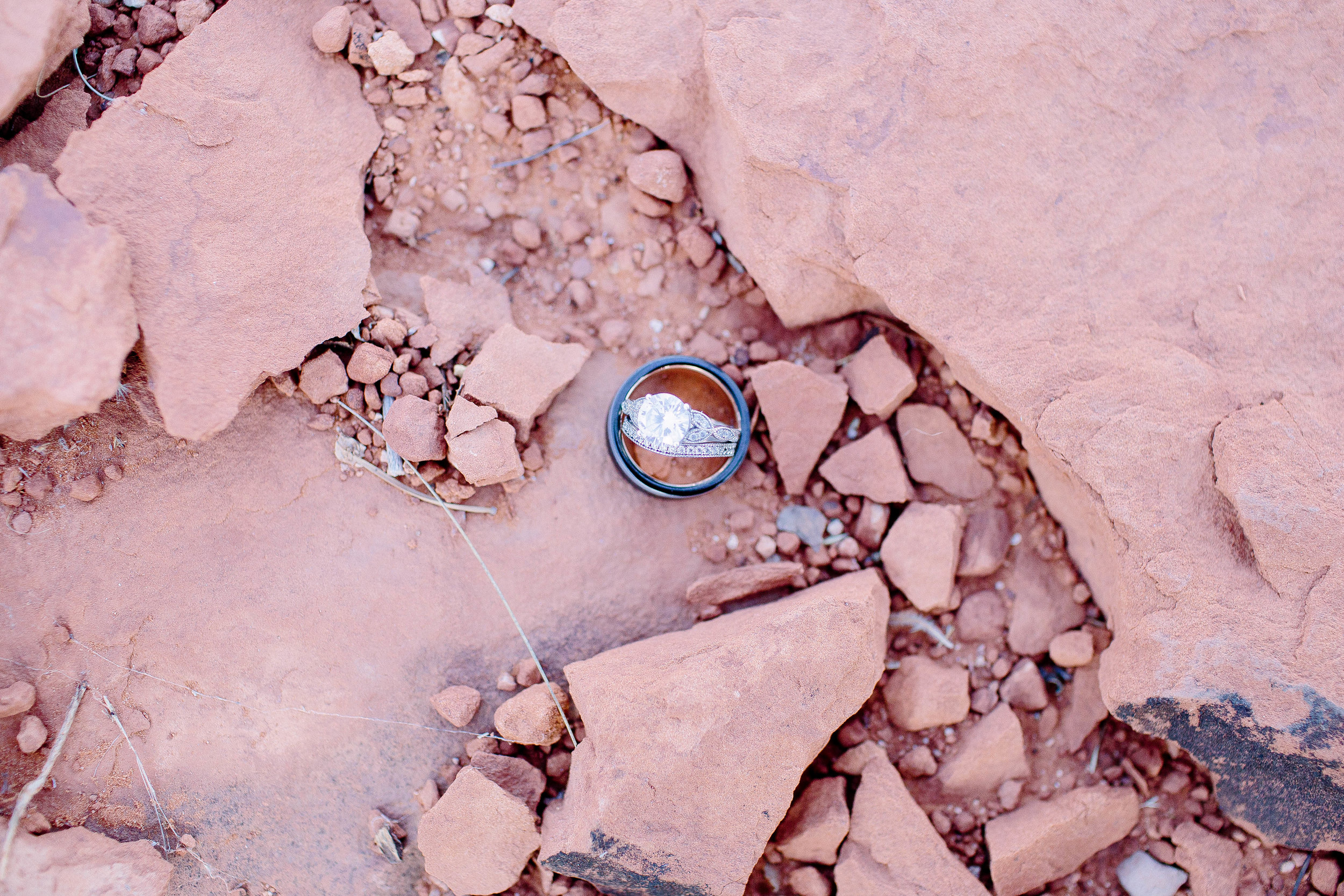 Sedona Elopement at Bell Rock Rings