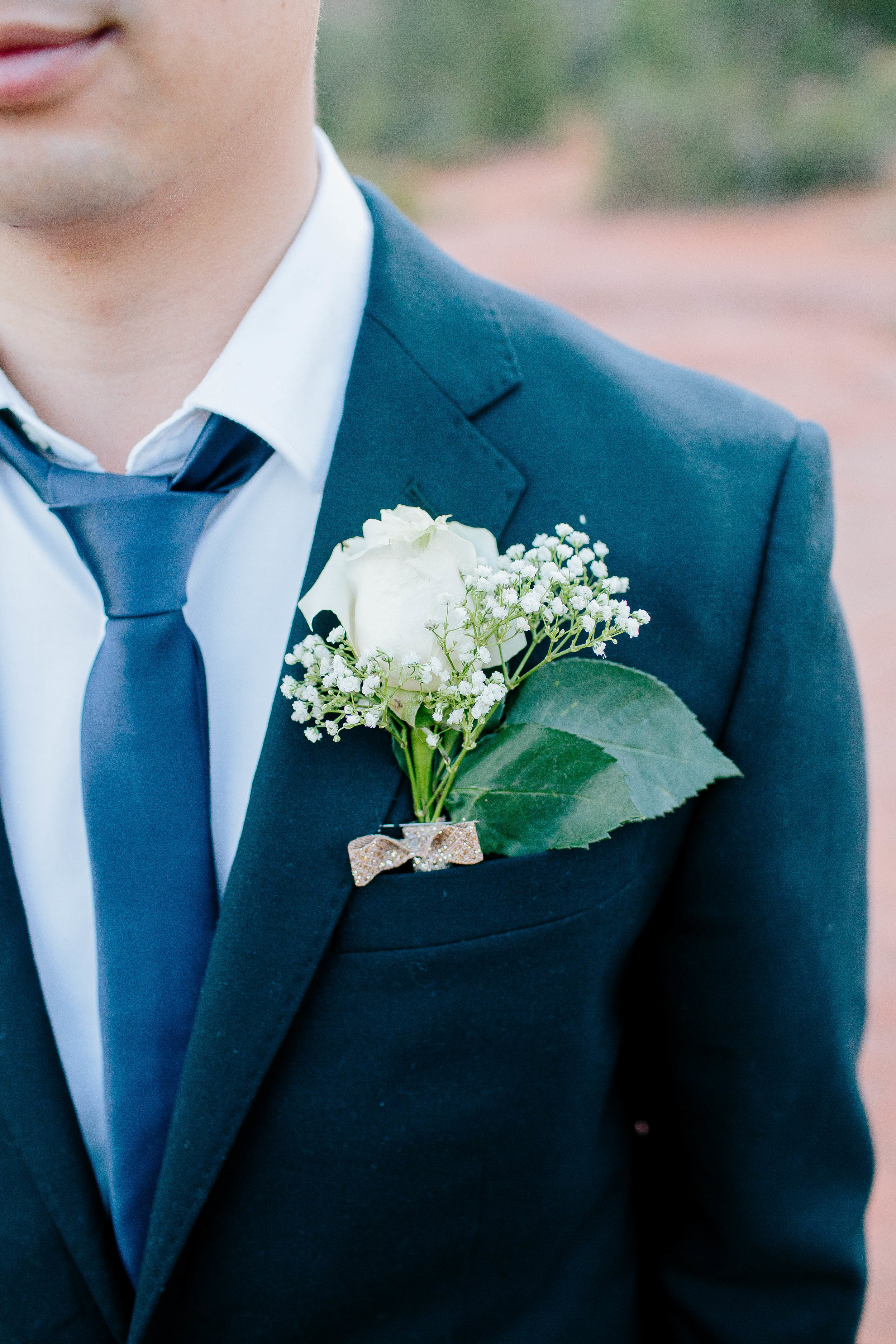 Sedona Elopement at Bell Rock Groom