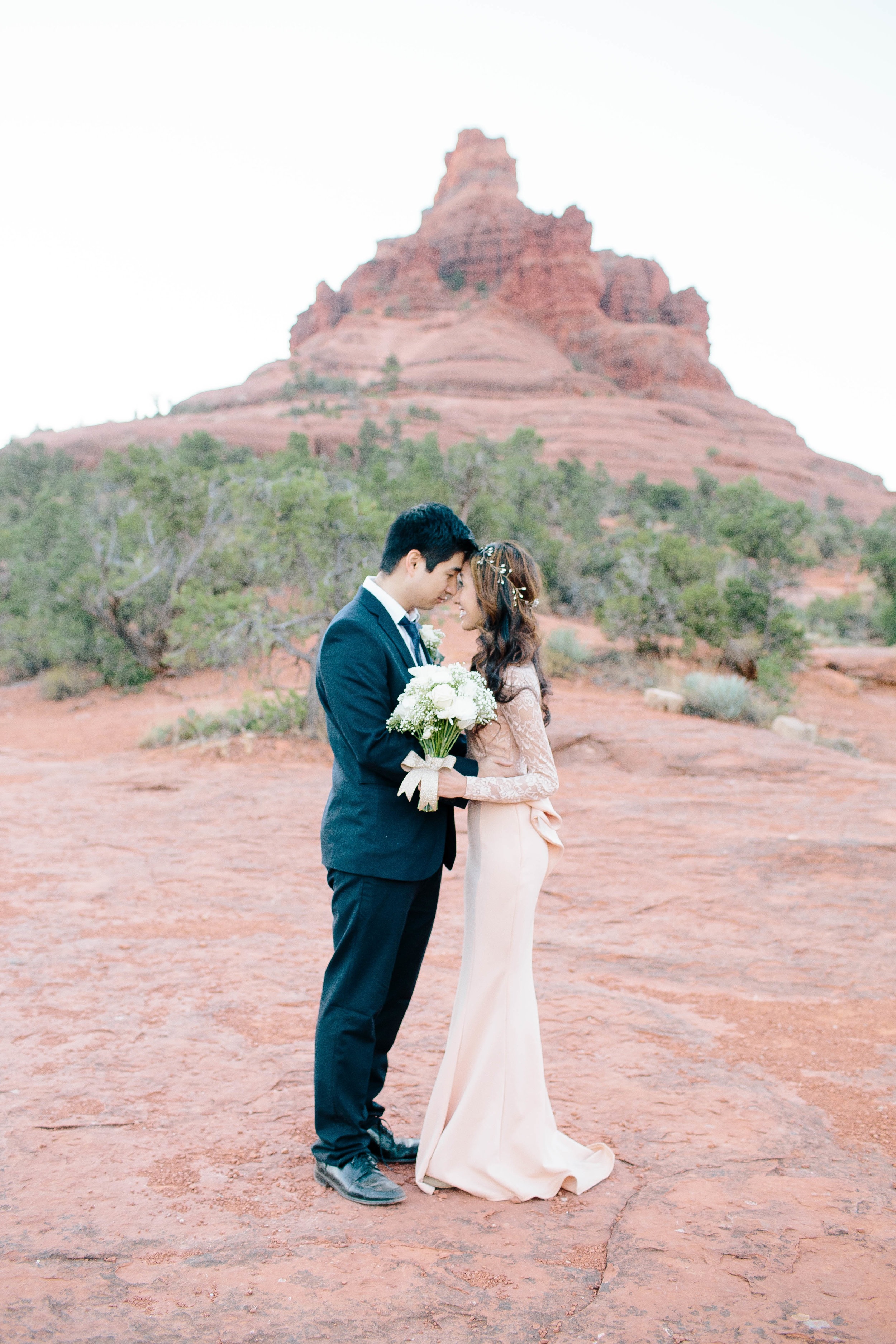Sedona Elopement at Bell Rock