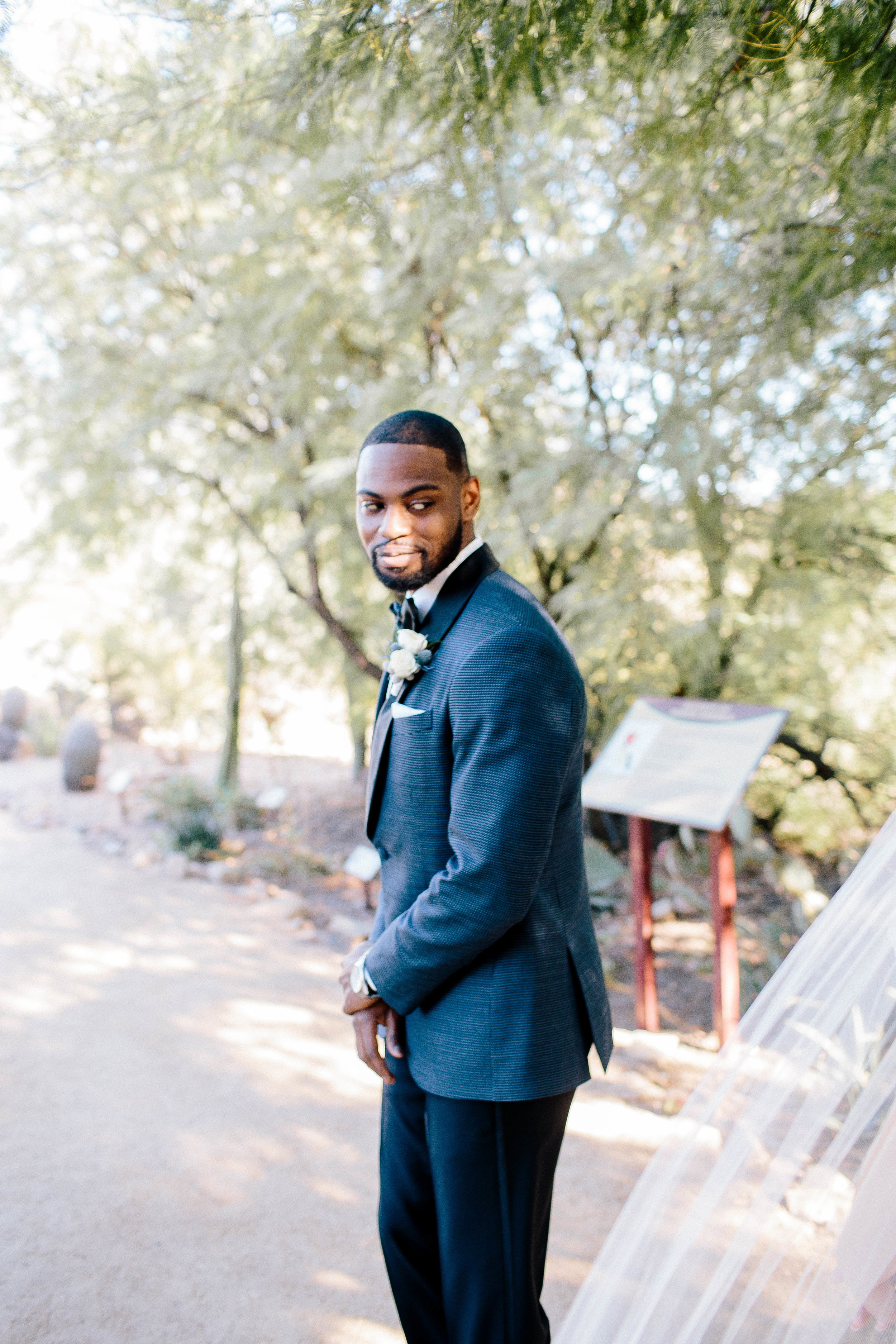 First Look at Mayo Nature Trail- Arizona Wedding Photographer