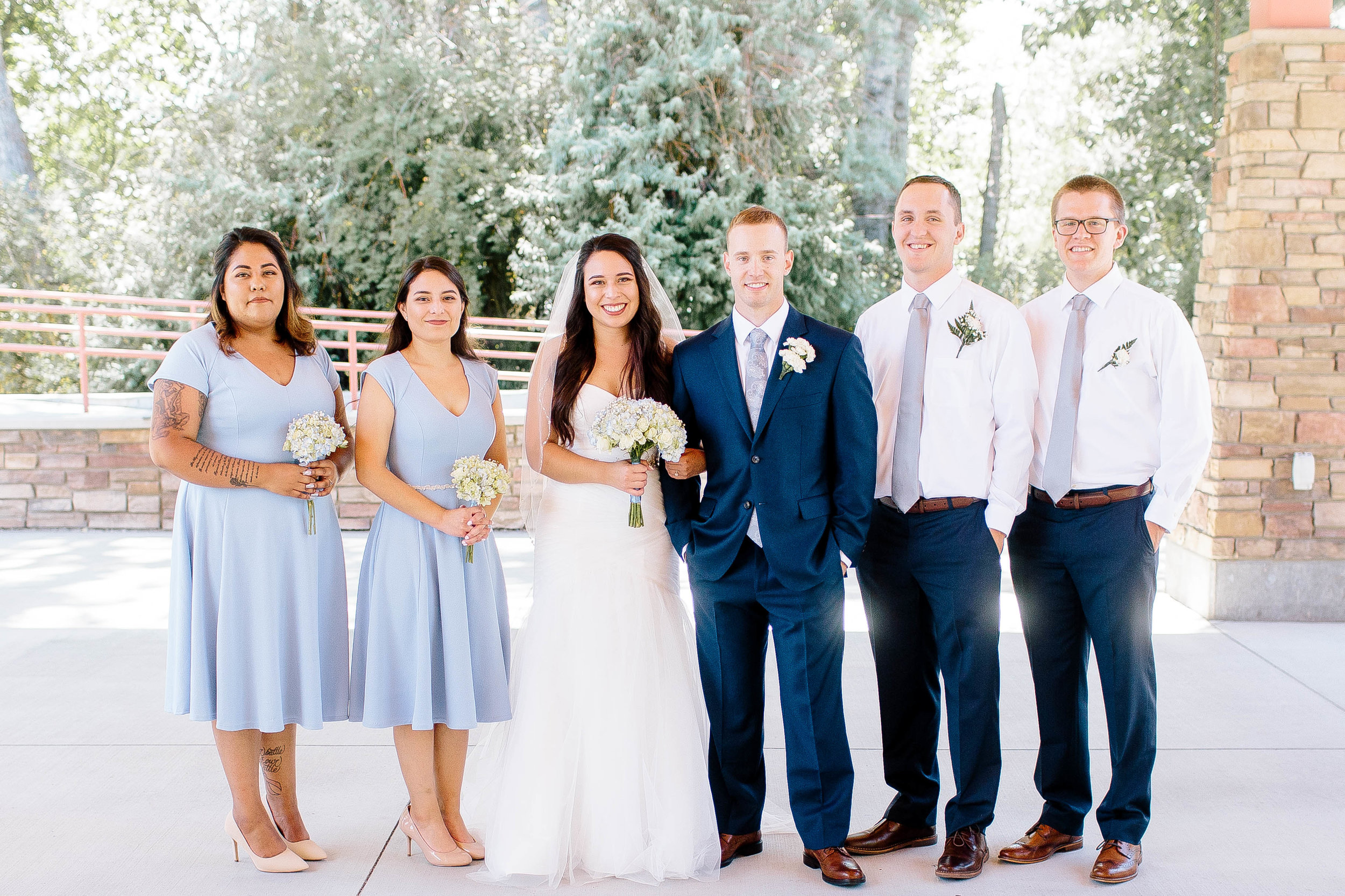 Bridesmaids- Boise Wedding Photographer- Boise Photographer