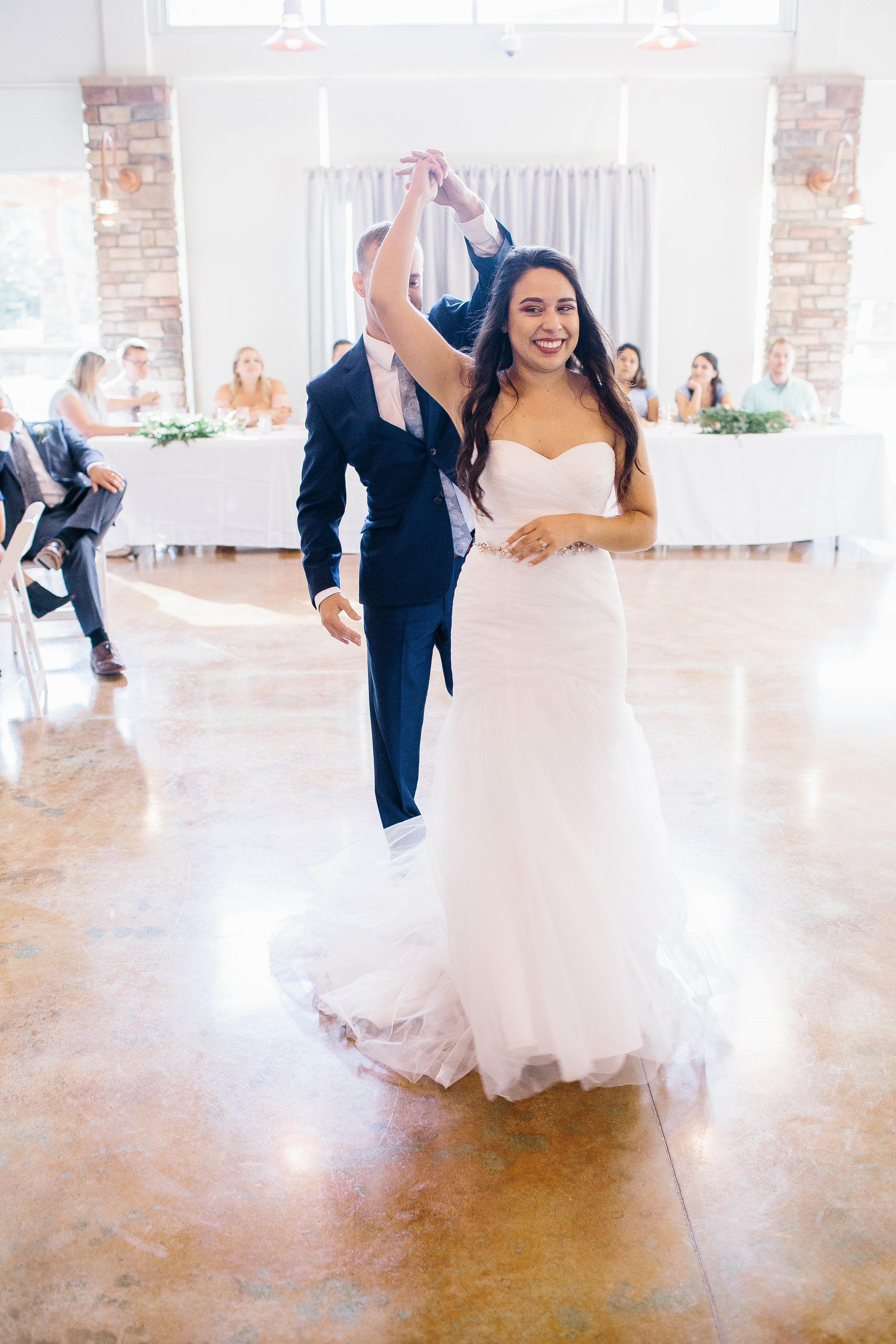First Dance Photos- Boise Photographer- Boise Wedding Photographer- Idaho Photographer- Idaho Wedding Photographer