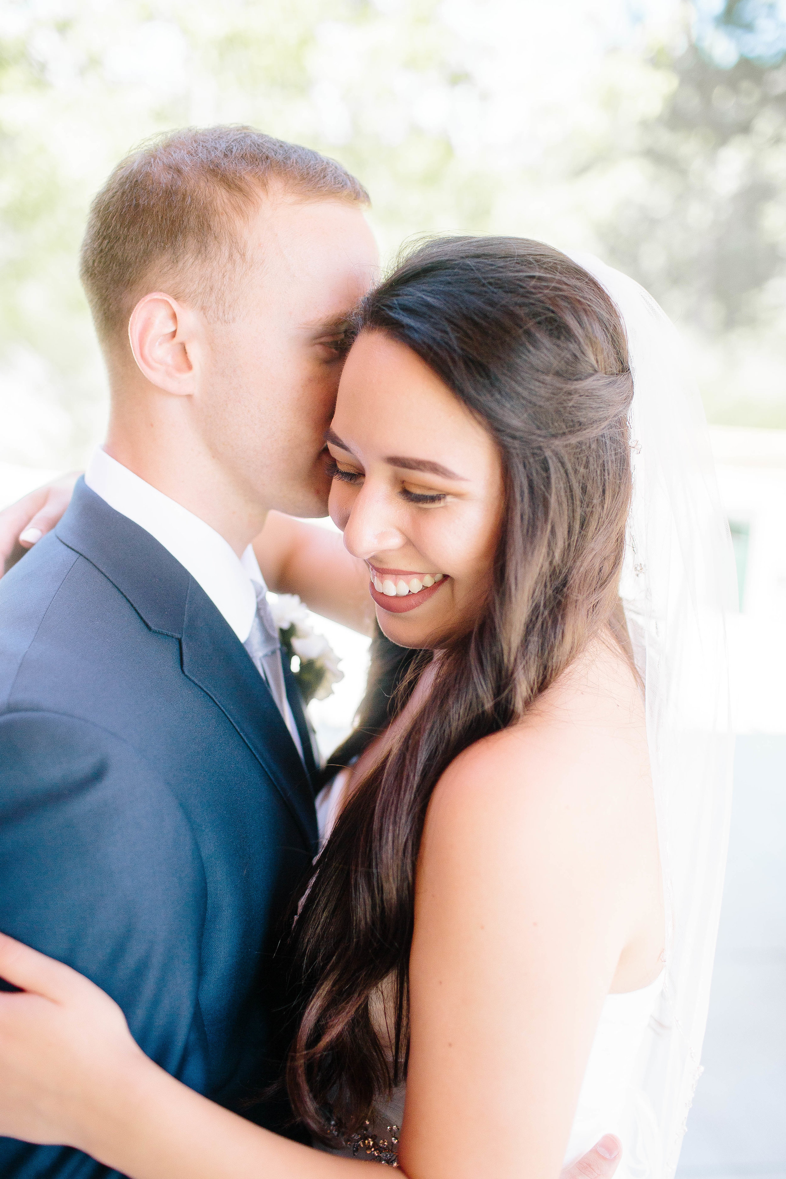 Bride and Groom- Bridals- Mermaid Wedding Gown- Fitted Wedding Gown- Barber Park Wedding- Boise Wedding- Boise Wedding Photographer- Idaho Wedding- Idaho Wedding Photographer