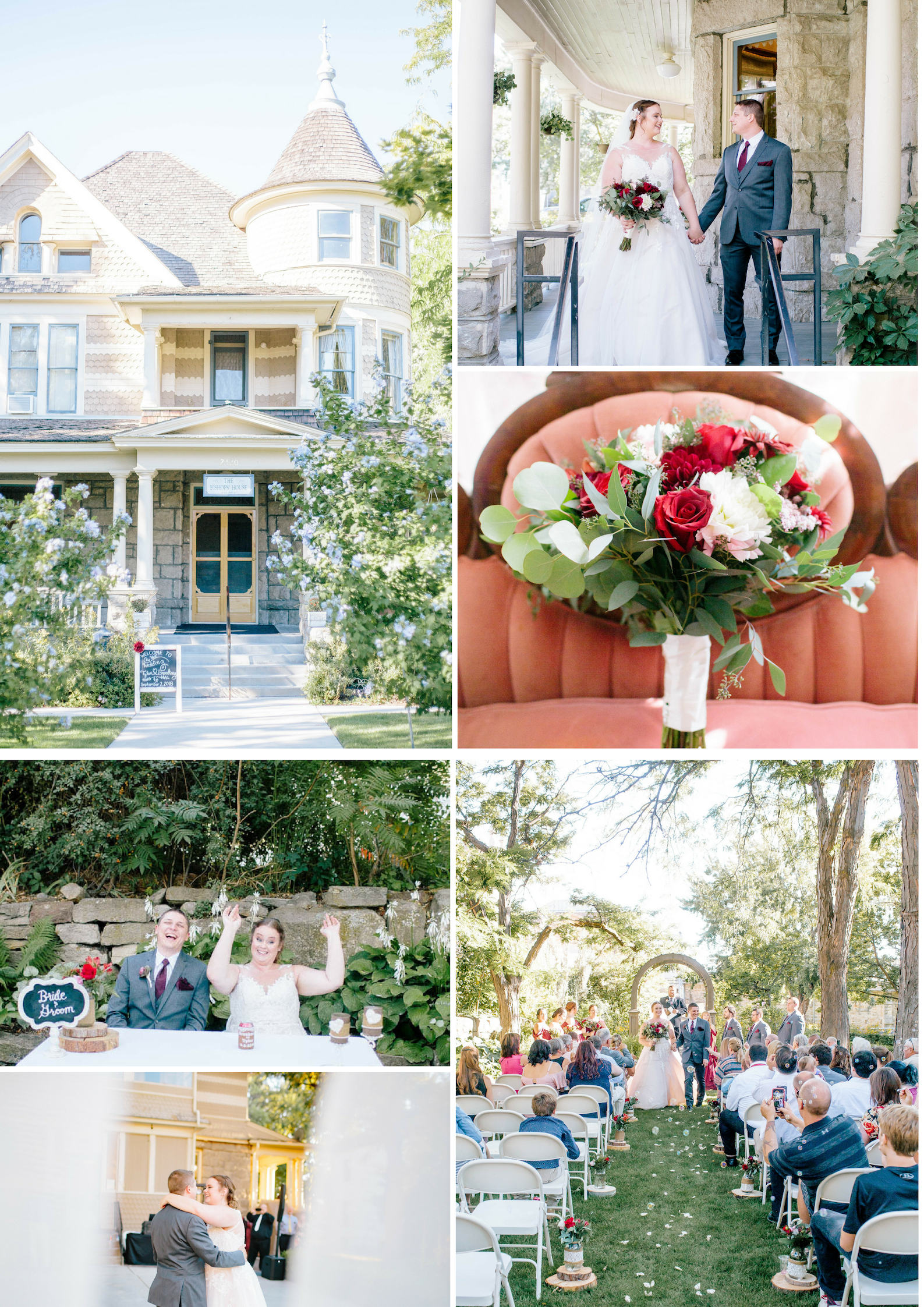 The Bishop's House Boise- Boise Wedding Venue- Boise wedding photographer