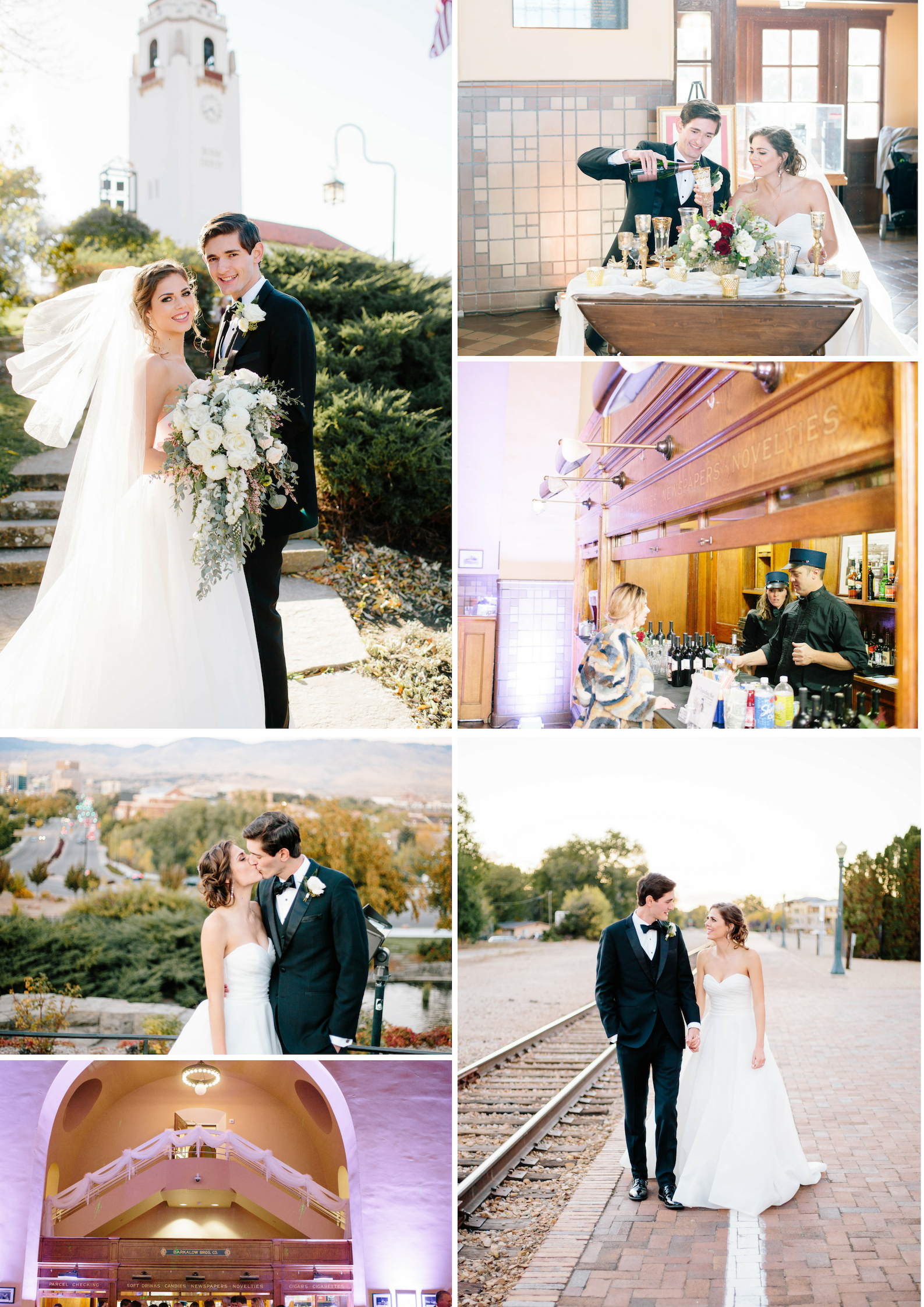 The Boise Depot Wedding- Boise Wedding Venues- Boise Wedding Photographer