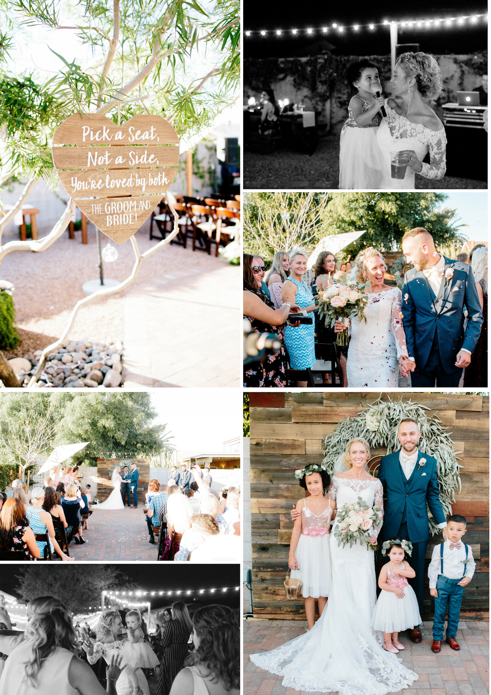 Arizona Backyard Wedding- Arizona Wedding Photographer