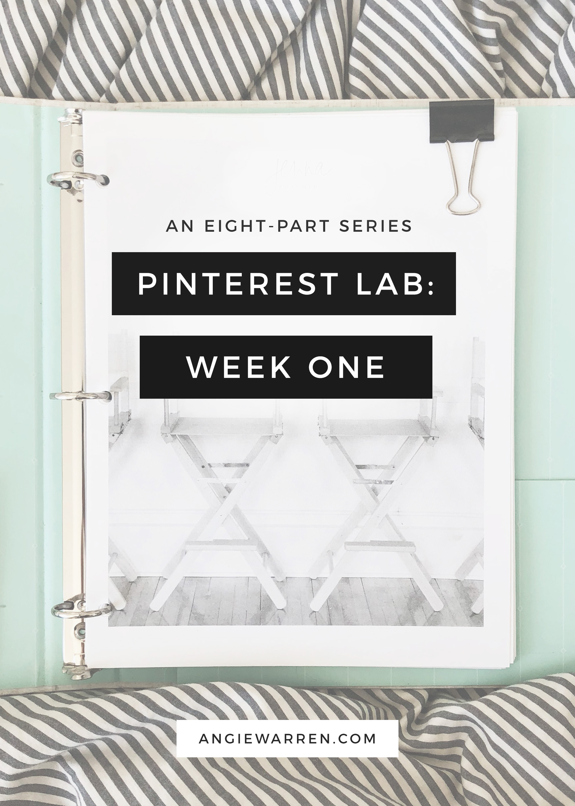 The Pinterest Lab - a Series - Angie Warren - www.angiewarren.com