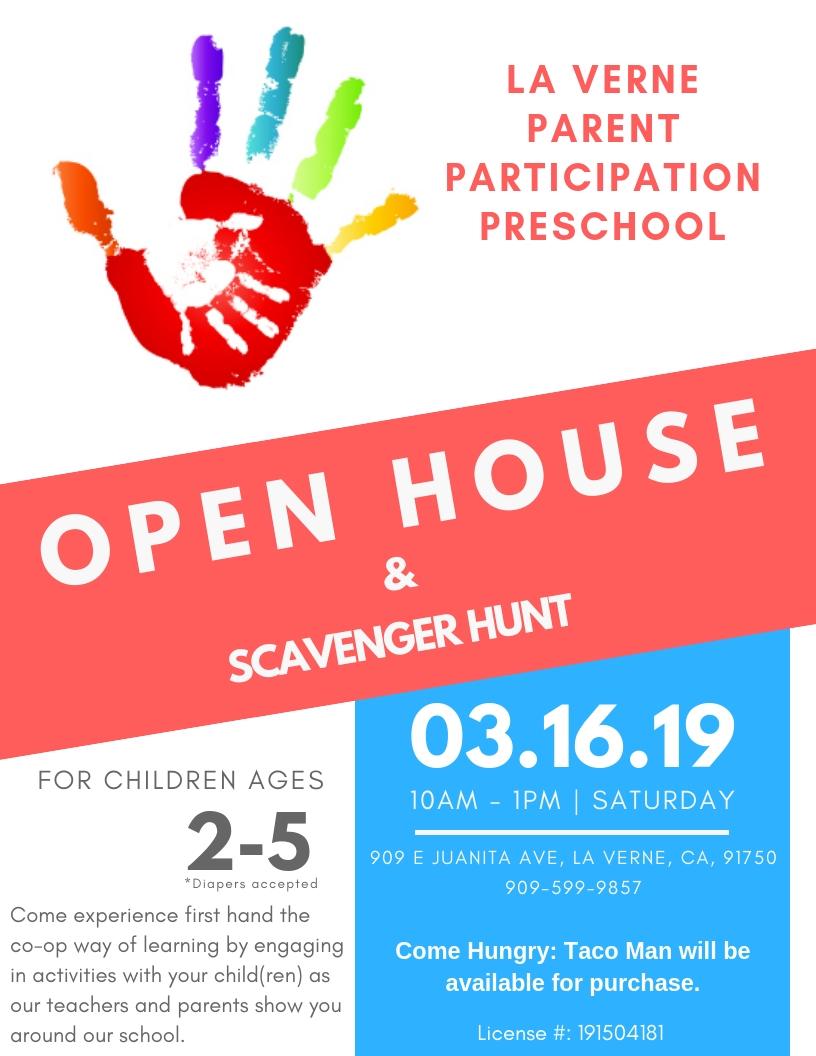 preschool open house 2019