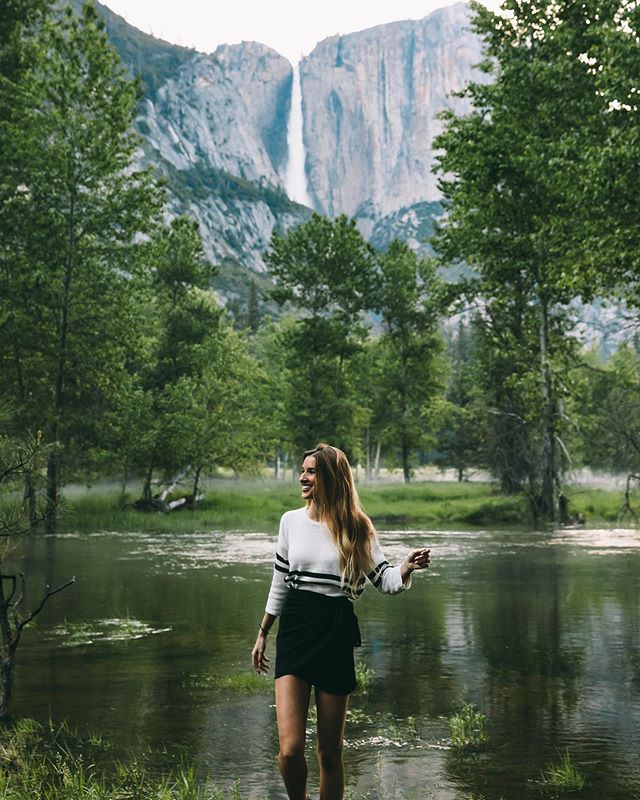 Happy to be back in Yosemite wearing @bohme.boutique 🏔🌿✨ Use my coupon code KNOX15 to get 15% off your next purchase! 🌞