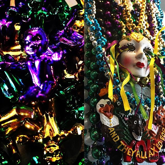 Happy Mardi Gras!!! Wishing we were back today😩#mardigras #fattuesday #laissezlesbontempsrouler