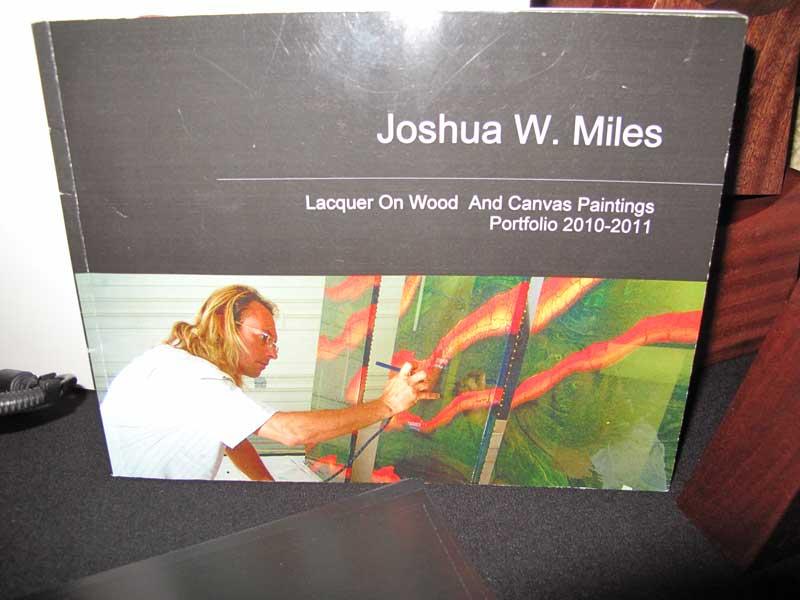Joshua W. Miles fine arts portfolio