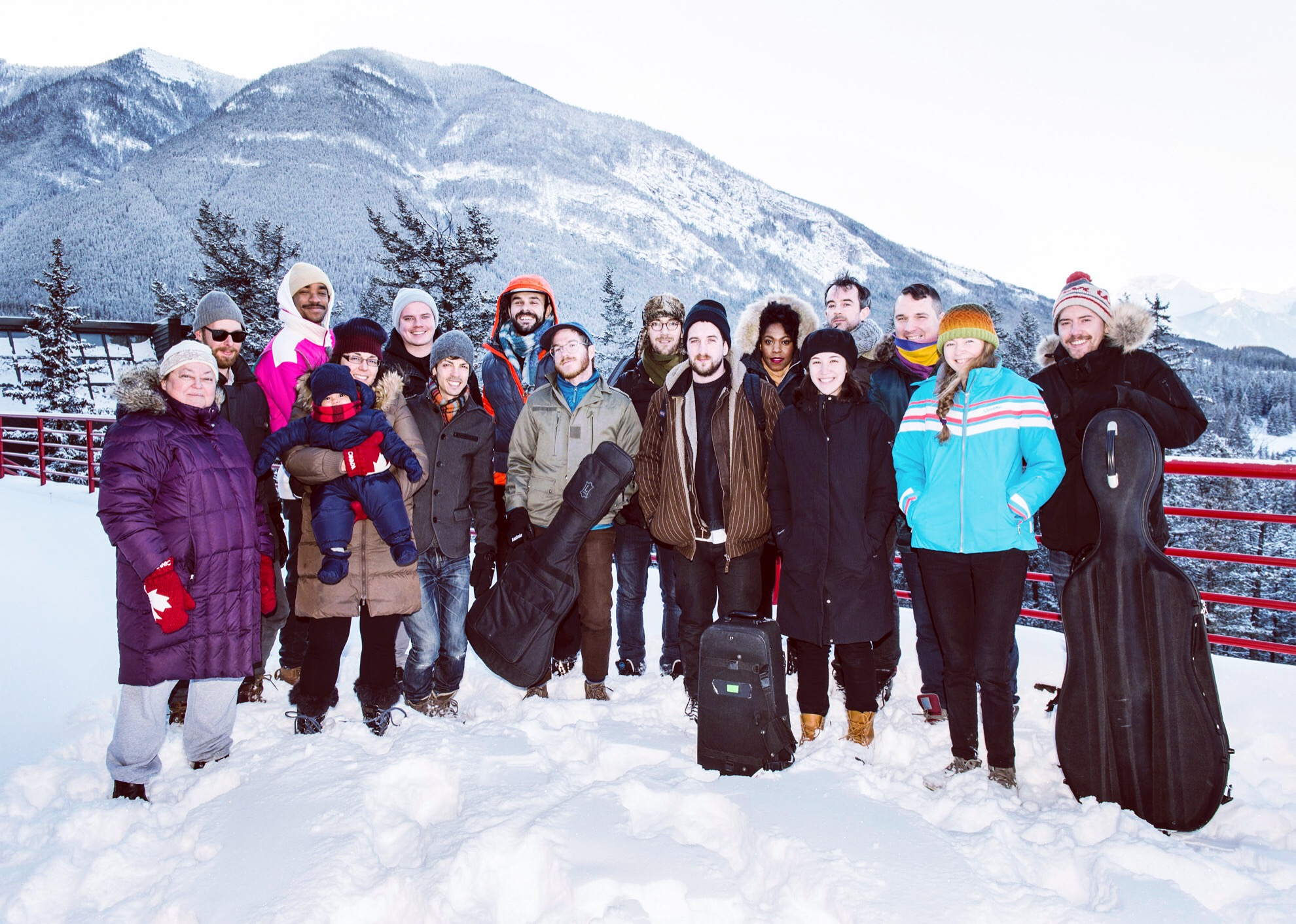 Banff Centre Residency. January 2017.