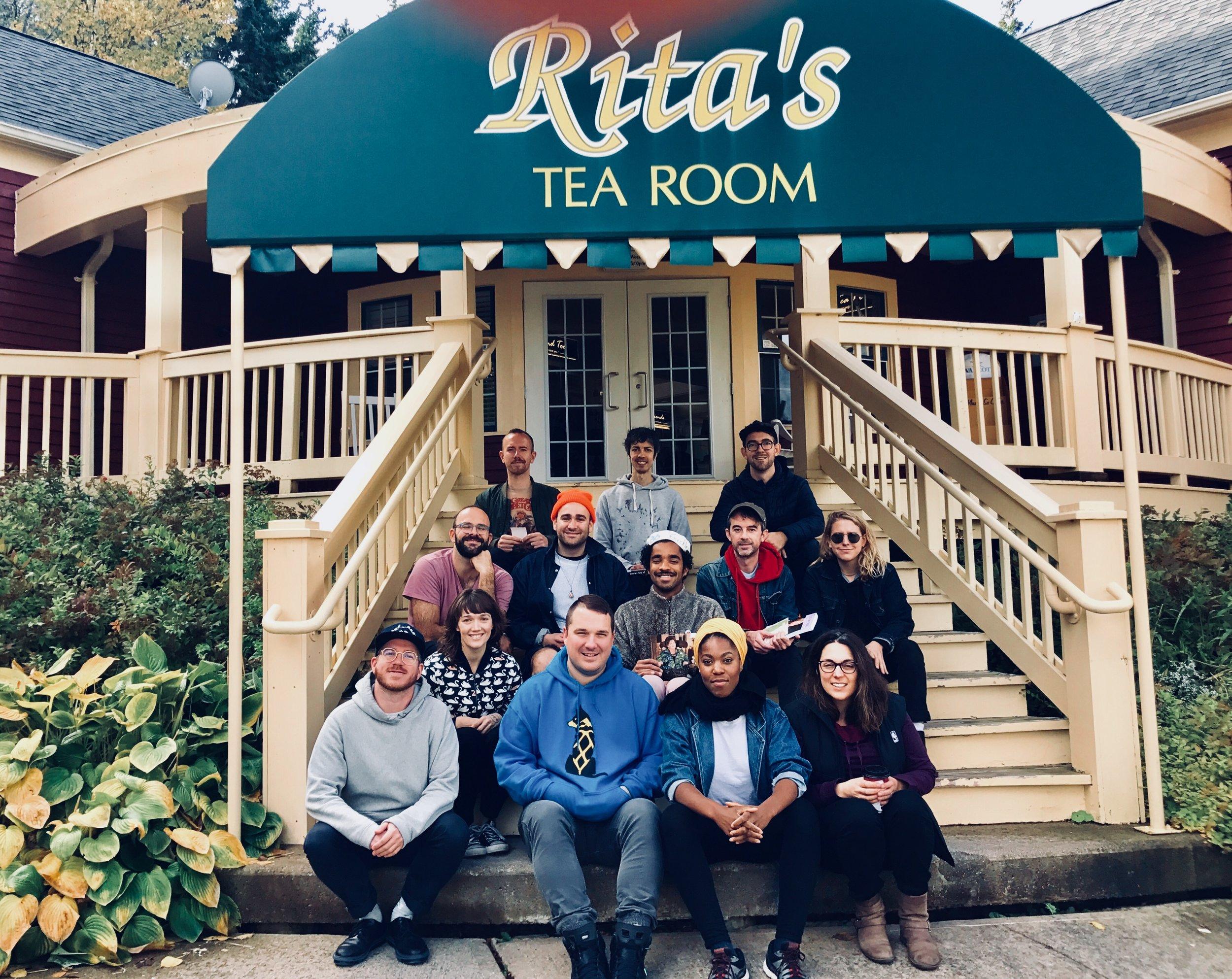 Rita's Tea Room, Big Pond Centre, Cape Breton, Nova Scotia. October 13, 2018.