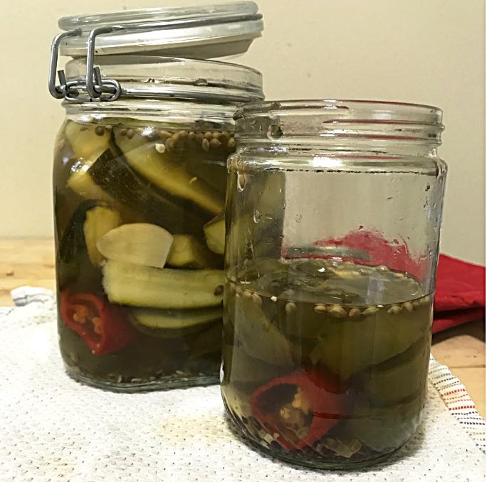 zucchini jalapeno pickles