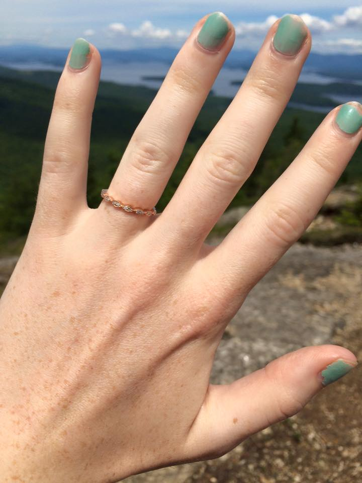 There it is - the ring!
