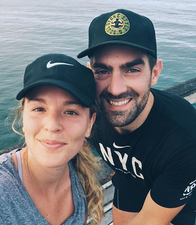 salty, seaside miles this Monday morning 🏃🏽♂️🏃🏼♀️. Can't wait until our friends and family are out here next month!