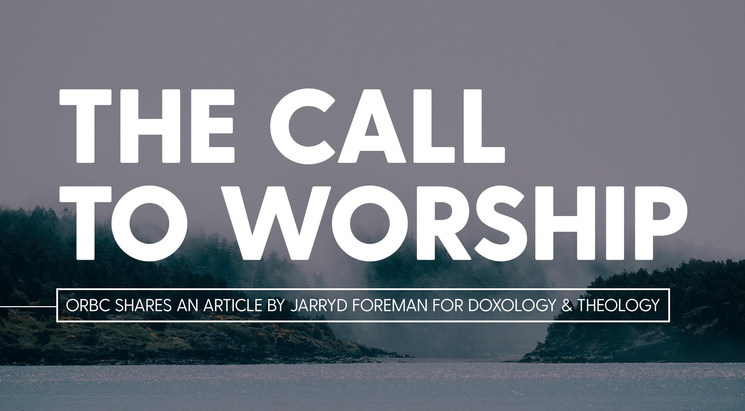 The Call to Worship.jpg