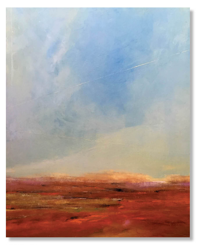 BREAKING DAWN  48 X 60 X 1.5  Oil on Canvas