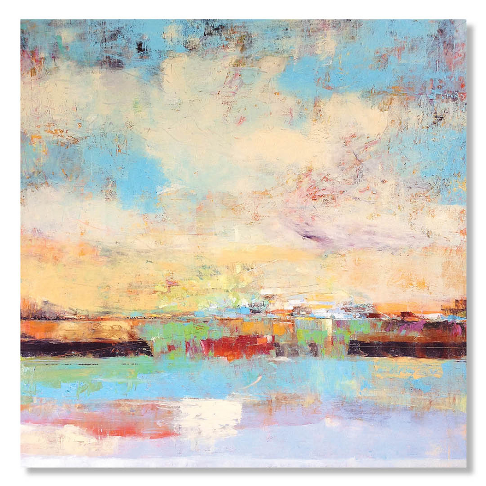 BEAUTIFUL WISH FOR A SPRING DAY |  SOLD   48 x 48 x 1.5  Oil on Canvas
