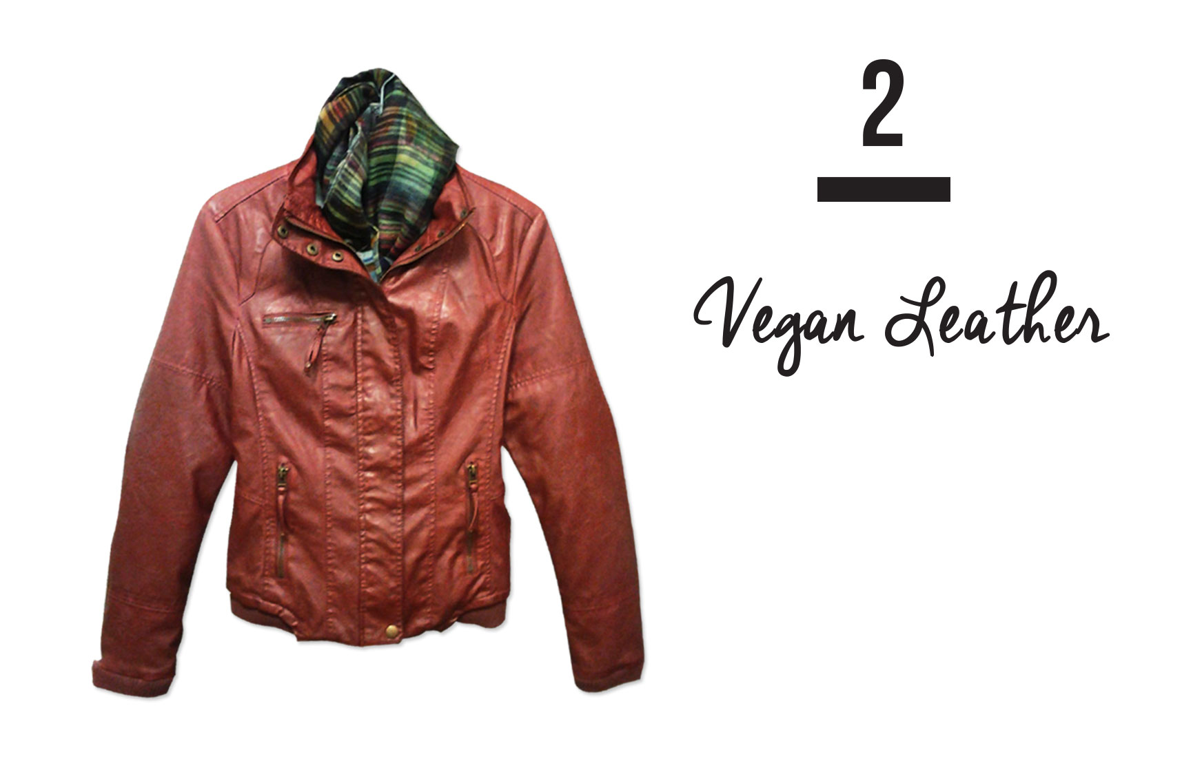 VEGAN LEATHER Mountain Co. red vegan leather jacket is fleece lined and gives you the extra warmth for the cool evenings ahead. Stop in to see the many styles and colors available.