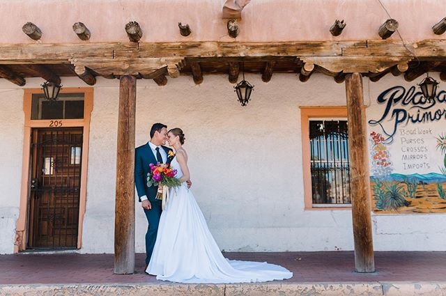 Shot the sweetest New Mexico wedding on Saturday...!🌵
