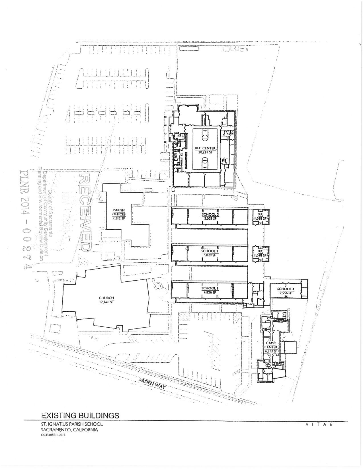 Conceptual Site Plan - Enlarged