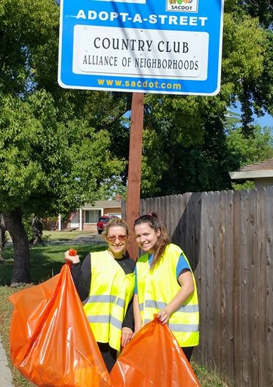 CCAN volunteers at the 2016 Community Clean-Up Day