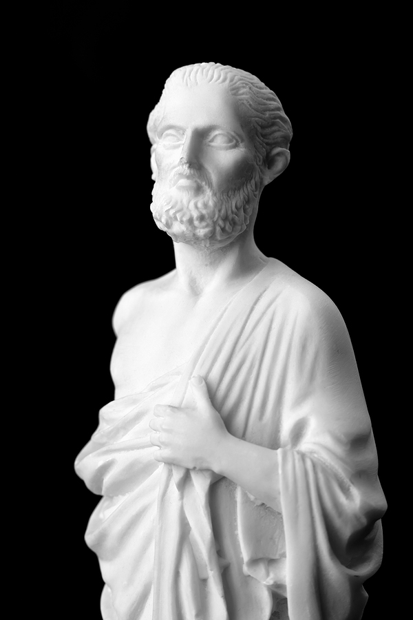 "Hippocrates (460-377 BC) was an ancient Greek physician and is considered one of the most prominent figures in the history of medicine. He coined the infamous phrase, ""let food be thy medicine and medicine be thy food""."