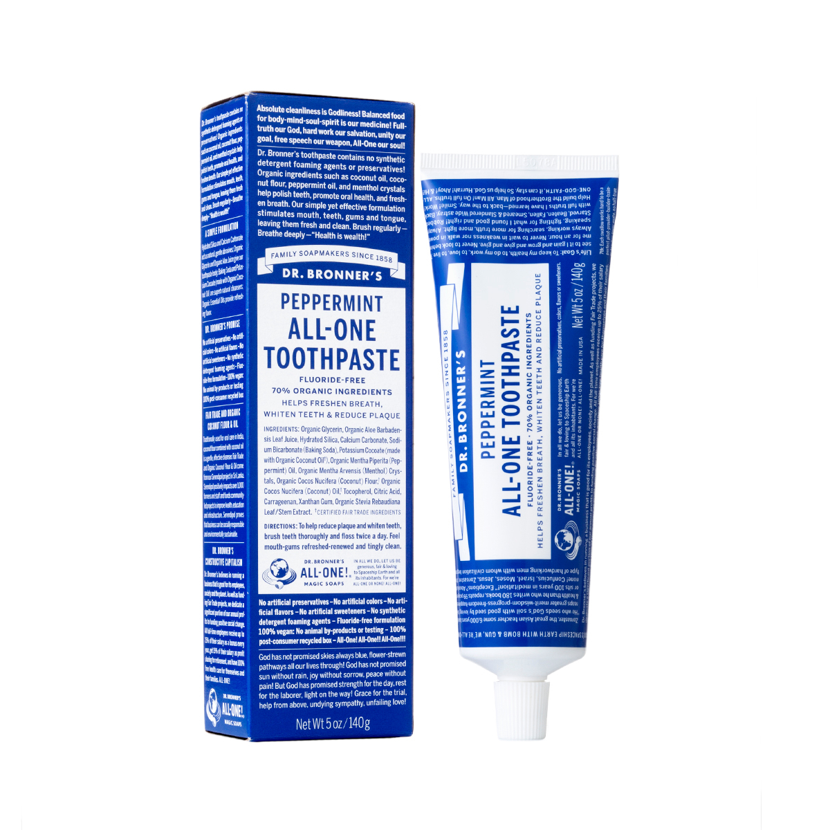 Dr. Bronners Toothpaste