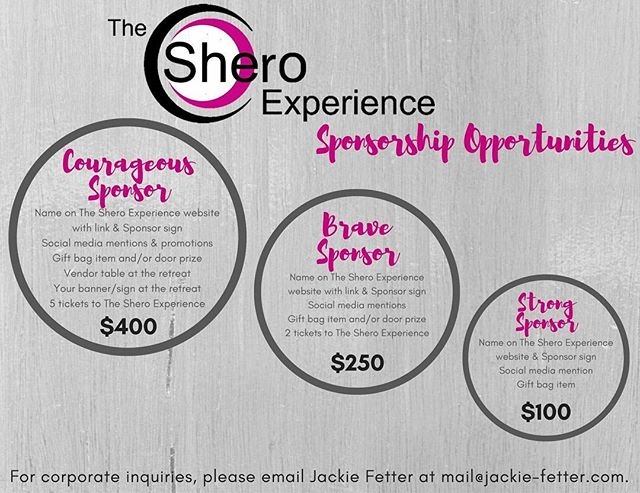 Sponsorship levels announced!!! This day wouldn't happen without its lovely ladies assisting in the day! . #sponsor #Shero #hero #she #makeithappen #love #ladies #women #event #outdoors #canoe #kayak #yoga #meditation #burlesque #danceclubcardio #zipline #climbing #iowa