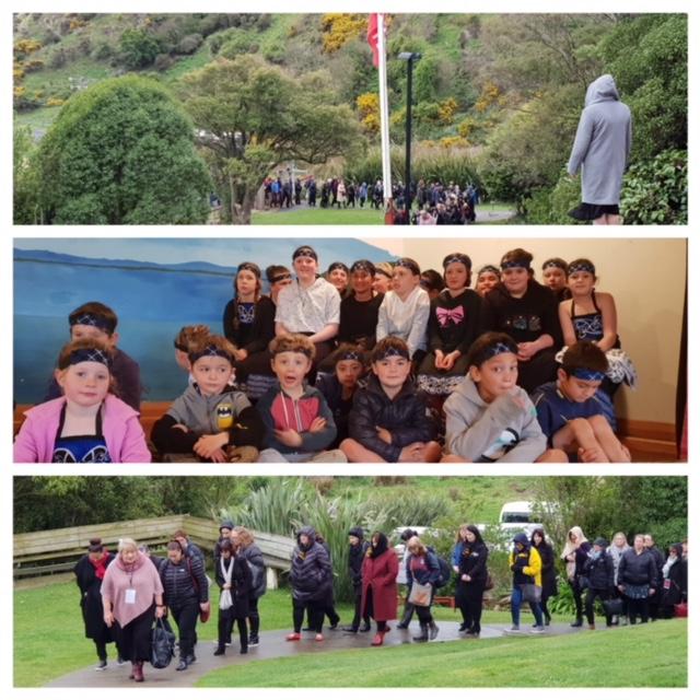 National Maori Achievement Collaborative Wananga; Parihaumia keeping warm while they wait for the arrival of Manuhiri.