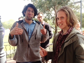 Yes, they were forced to give the thumbs up....