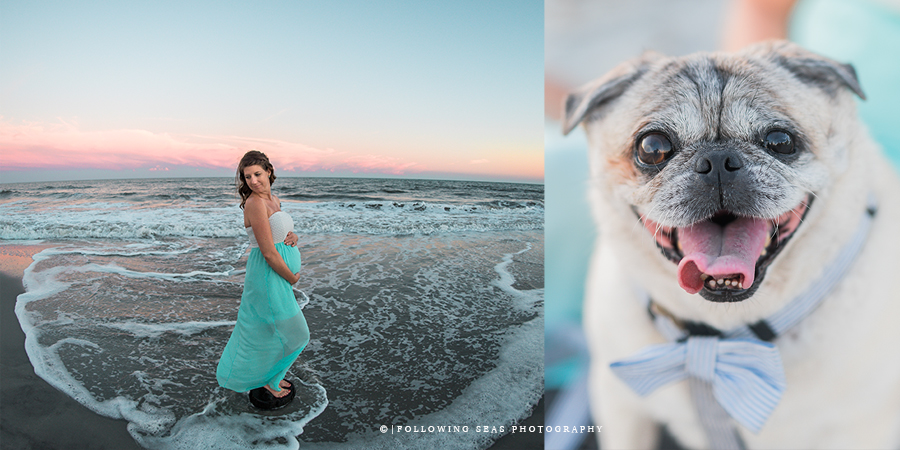 Folly Beach Maternity Photographer