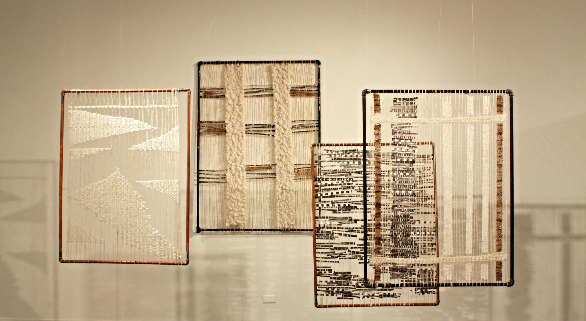 DOMINGA OPAZO, Cultural Crash, 2015, mixed media and textiles