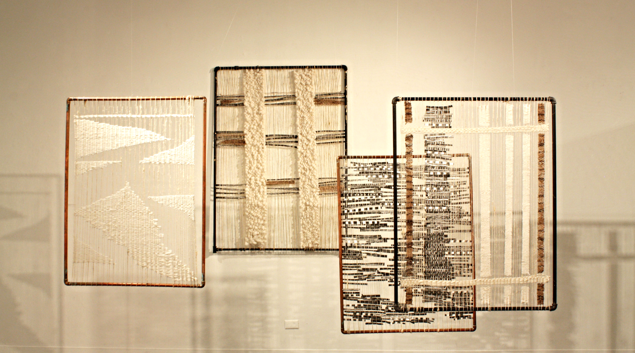 DOMINGA OPAZO,  Cultural Crash,  2015, mixed media and textiles