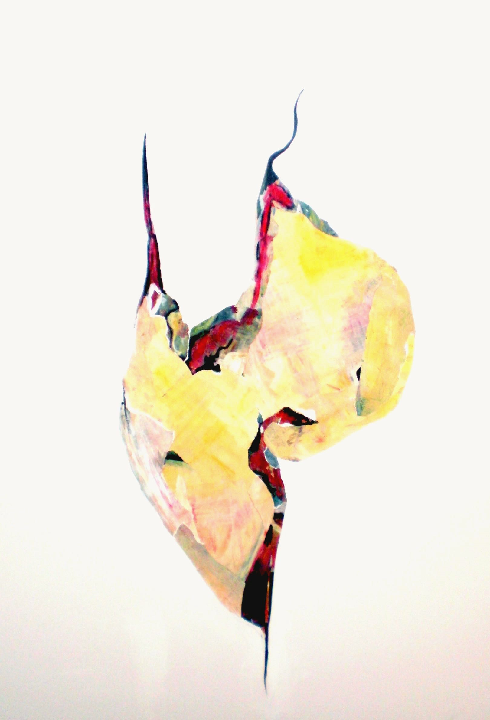 Colette Standish Surreal Abstracted Figure 1 Acrylic Collage on Canvas 48in-60in 2014-5.jpg